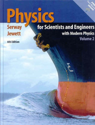Physics for Scientists and Engineers  6th 2004 (Revised) edition cover