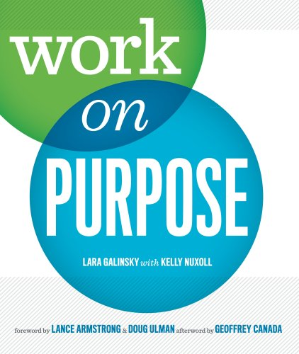 Work on Purpose  2010 edition cover