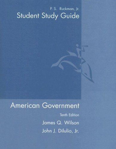American Government Institutions and Policies 10th 2006 (Guide (Pupil's)) edition cover