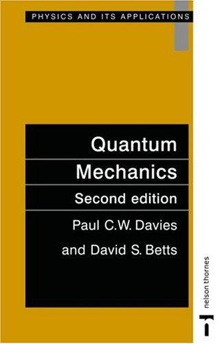 Quantum Mechanics  2nd 1994 (Revised) edition cover
