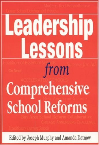 Leadership Lessons from Comprehensive School Reforms   2002 9780761978466 Front Cover