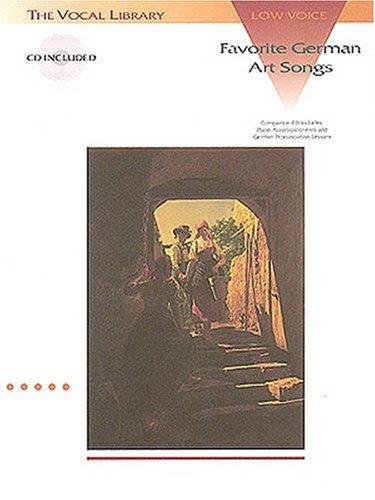 Favorite German Art Songs  N/A edition cover