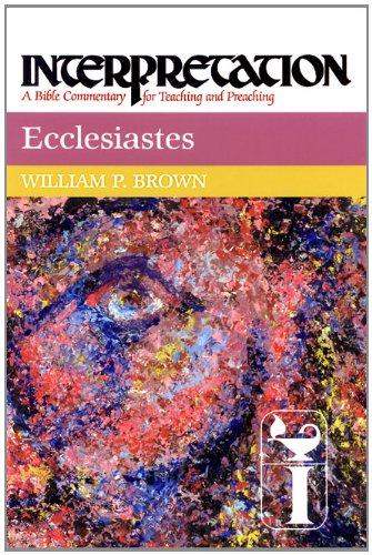 Ecclesiastes   2000 edition cover