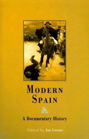 Modern Spain A Documentary History  2003 edition cover