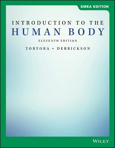 Cover art for Introduction to the Human Body, EMEA Edition, 11th Edition