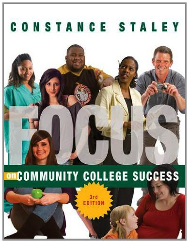 FOCUS on Community College Success  3rd 2014 edition cover