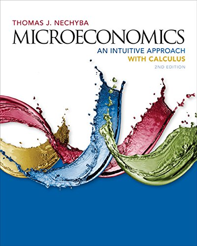 Microeconomics An Intuitive Approach with Calculus 2nd 2017 edition cover