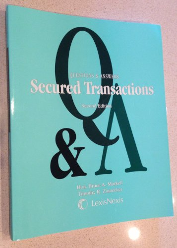 Secured Transactions:  2nd 2011 edition cover