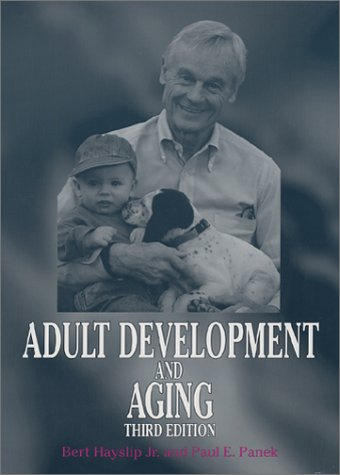 Adult Development and Aging  3rd 2002 edition cover