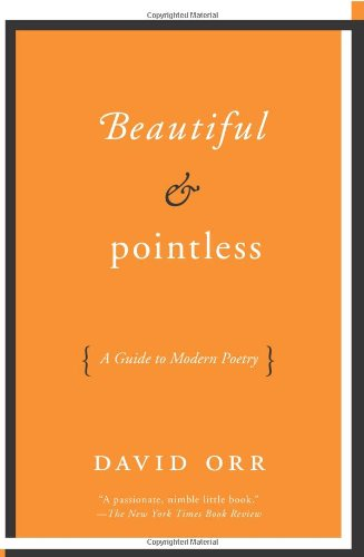 Beautiful and Pointless A Guide to Modern Poetry N/A edition cover