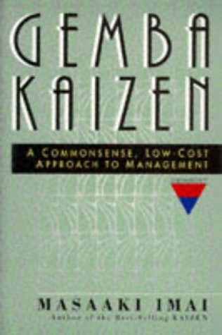 Gemba Kaizen A Commonsense, Low-Cost Approach to Management  1997 edition cover