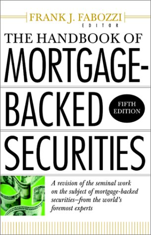 Handbook of Mortgage Backed Securities  5th 2001 edition cover