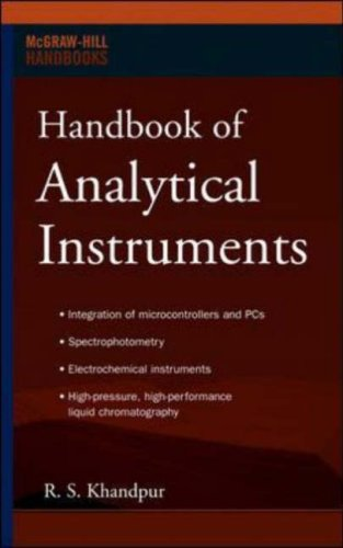 Handbook of Analytical Instruments   2007 9780071487467 Front Cover