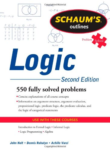 Logic  2nd 2011 (Revised) edition cover