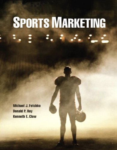 Sports Marketing   2013 (Revised) edition cover
