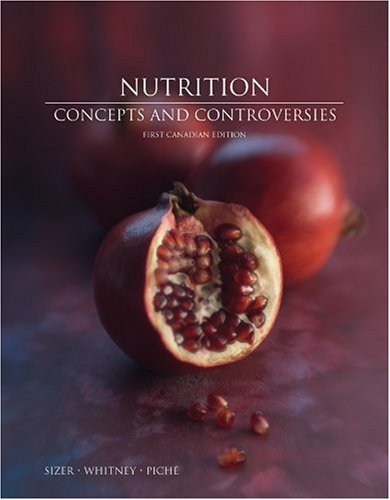 NUTRITION >CANADIAN< 1st edition cover