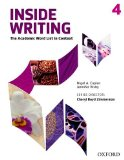 Inside Writing, Level 4 The Academic Word List in Context  2014 (Student Manual, Study Guide, etc.) edition cover