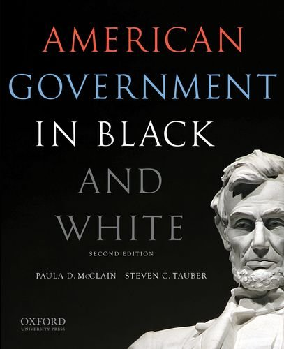 American Government in Black and White  2nd 2014 edition cover