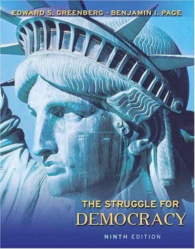 Struggle for Democracy  9th 2009 edition cover