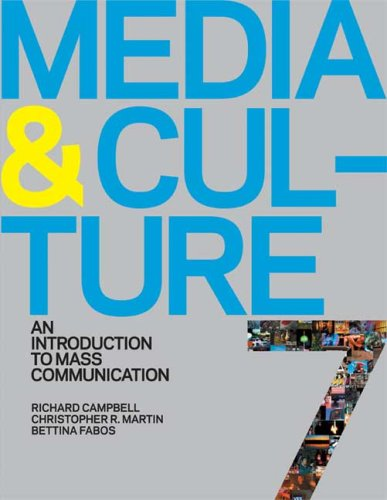 Media and Culture An Introduction to Mass Communication 7th 2010 edition cover