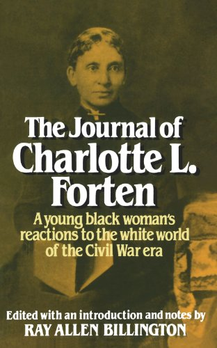 Journal of Charlotte L. Forten  Reprint edition cover