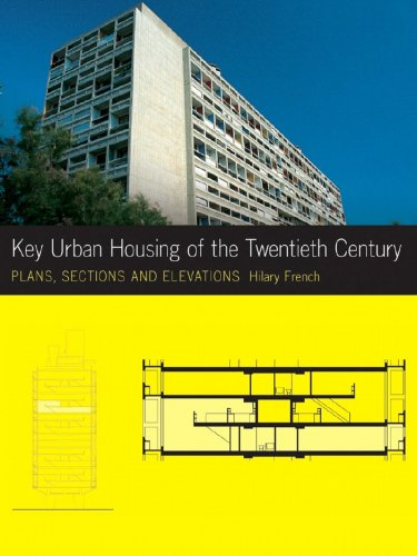 Key Urban Housing of the Twentieth Century Plans, Sections, and Elevations  2008 9780393732467 Front Cover