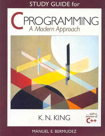 C Programming   1998 (Student Manual, Study Guide, etc.) edition cover