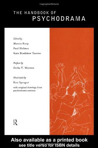 Handbook of Psychodrama   1998 edition cover