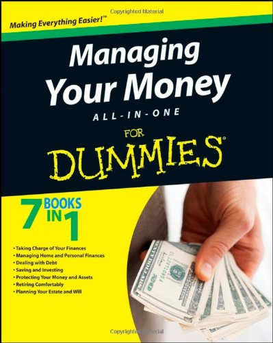 Managing Your Money All-in-One for Dummies�   2009 edition cover
