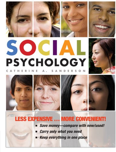 Social Psychology, First Edition Binder Ready Version   2009 edition cover
