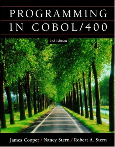 Programming in COBOL/400  2nd 2002 (Revised) edition cover