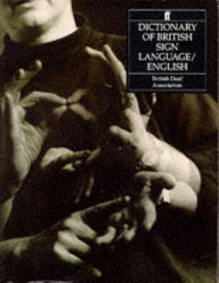 Dictionary of British Sign Language/English N/A edition cover