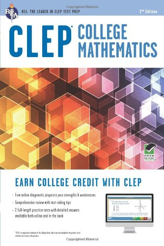 Clep College Math With Online Practice Tests:   2012 edition cover