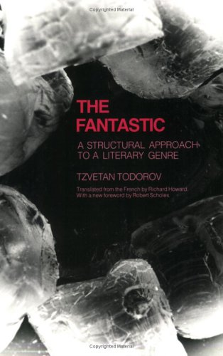 Fantastic A Structural Approach to a Literary Genre Reprint edition cover