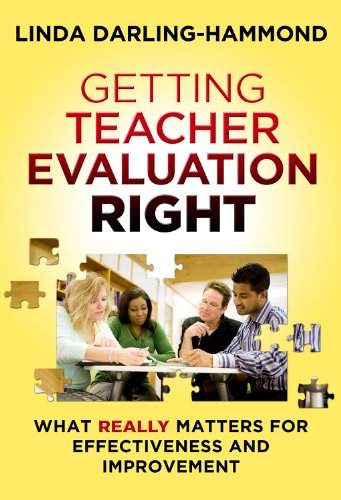 Getting Teacher Evaluation Right What Really Matters for Effectiveness and Improvement  2013 edition cover