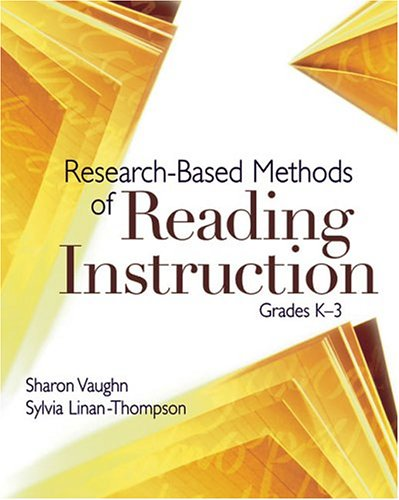 Research-Based Methods of Reading Instruction, Grades K-3   2004 edition cover