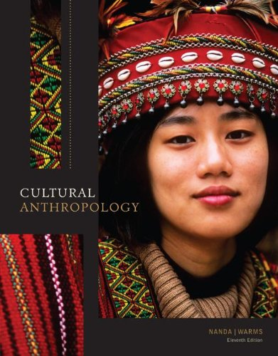 Cultural Anthropology  11th 2013 edition cover