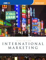 International Marketing  3rd 2009 edition cover
