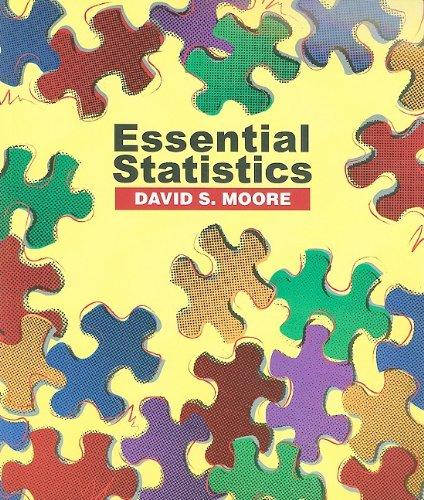 Essential Statistics   2010 edition cover