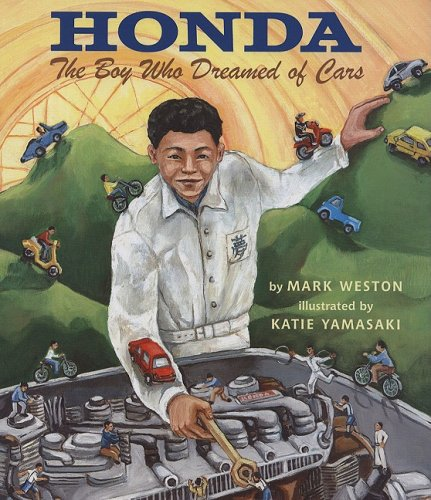 Honda The Boy Who Dreamed of Cars  2008 edition cover