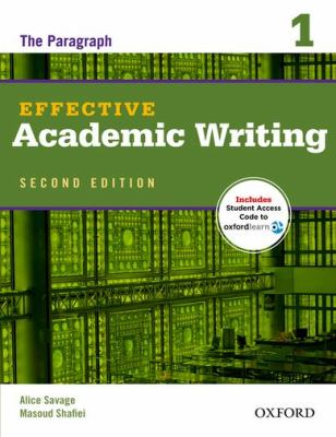 Effective Academic Writing 2e Student Book 1 Pack  2nd edition cover