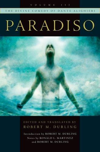 Divine Comedy of Dante Alighieri Paradiso  2014 edition cover