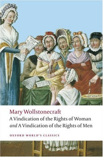 Vindication of the Rights of Woman and a Vindication of the Rights of Men   2008 edition cover