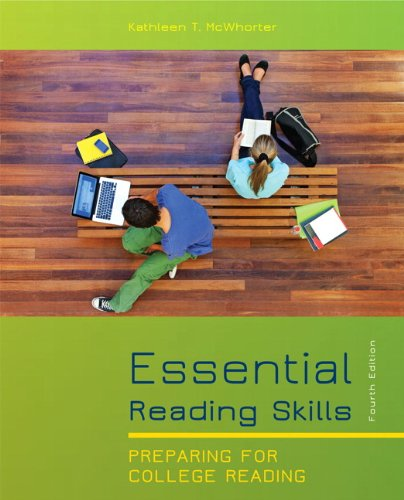 Essential Reading Skills  4th 2012 (Revised) edition cover