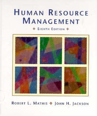 Human Resource Manual  8th 1997 9780314062468 Front Cover