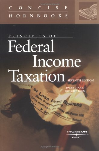 Principles of Federal Income Taxation of Individuals  7th 2005 (Revised) edition cover
