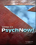 Psychnow! Version 2.0 Interactive Experiences in Psychology  2004 9780534590468 Front Cover