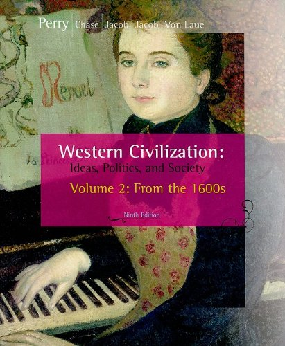 Western Civilization Ideas, Politics, and Society, from 1600 9th 2009 edition cover