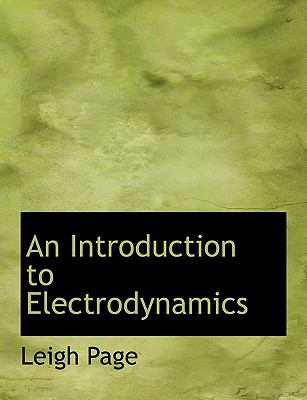 An Introduction to Electrodynamics:   2008 edition cover