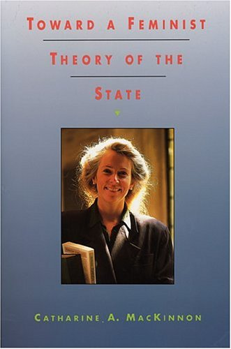 Toward a Feminist Theory of the State   1989 edition cover